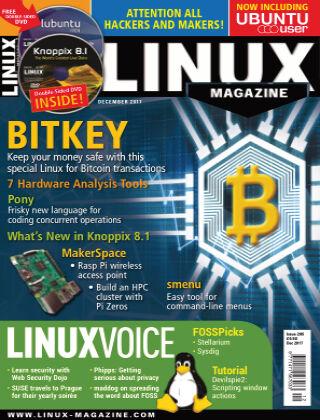 Linux Magazine #205: December 2017