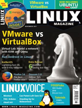 Linux Magazine #204: November 2017