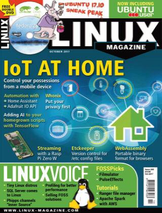 Linux Magazine #203: October 2017