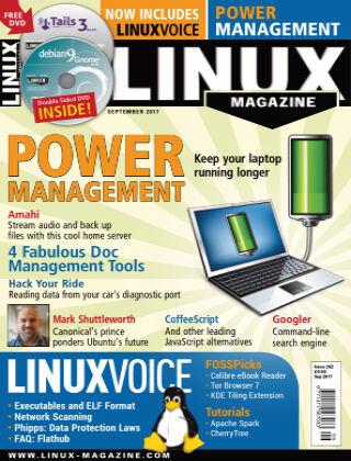 Linux Magazine #202: September 2017