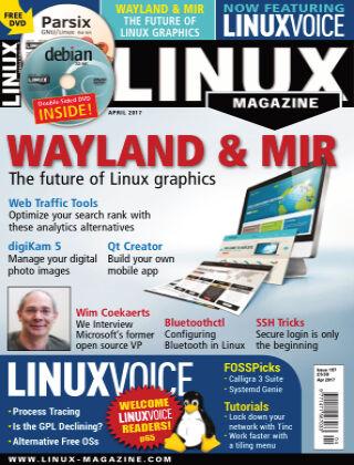 Linux Magazine #197: April 2017