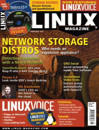 Linux Magazine #195: February 2017