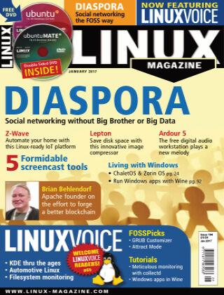 Linux Magazine #194: January 2017