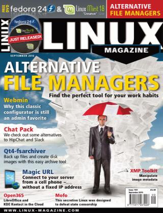 Linux Magazine #190: September 2016