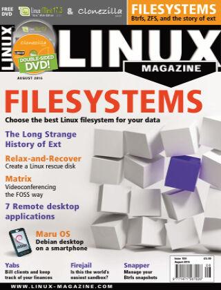 Linux Magazine #189: August 2016