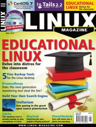 Linux Magazine #186: May 2016
