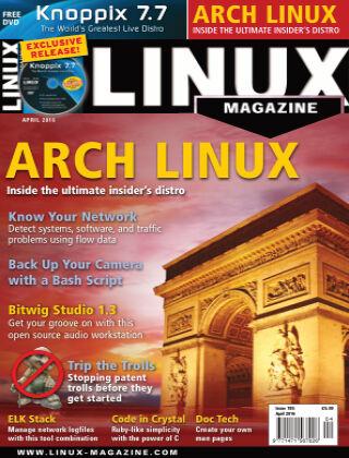 Linux Magazine #185: April 2016