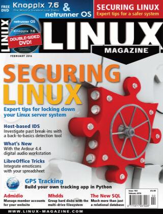 Linux Magazine #183: February 2016