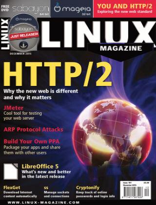 Linux Magazine #181: December 2015