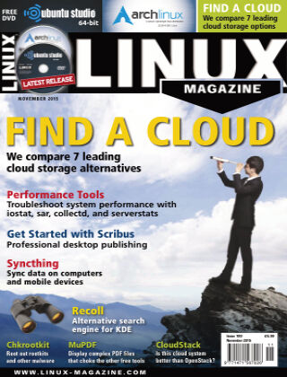 Linux Magazine #180: November 2015