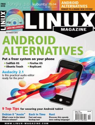 Linux Magazine #179: October 2015