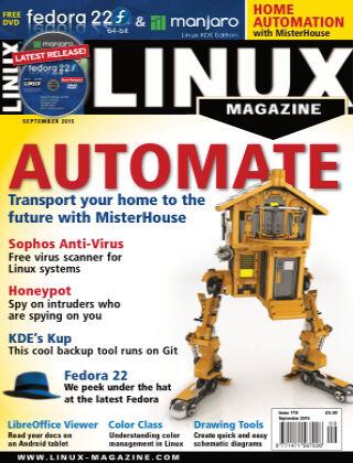Linux Magazine #178: September 2015