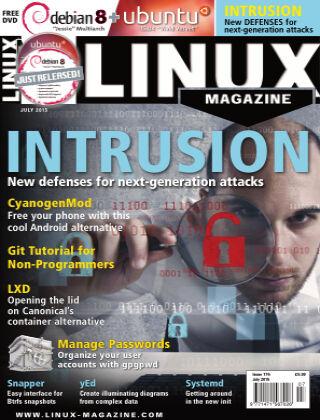 Linux Magazine #176: July 2015