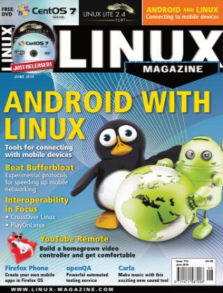 Linux Magazine #175: June 2015