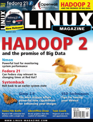 Linux Magazine #172: March 2015