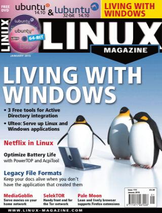 Linux Magazine #170: January 2015