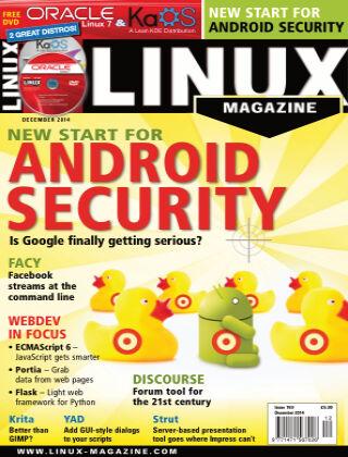 Linux Magazine #169: December 2014