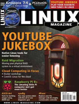 Linux Magazine #168: November 2014