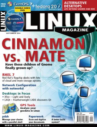 Linux Magazine #166: September 2014