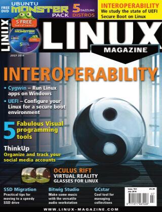 Linux Magazine #164: July 2014