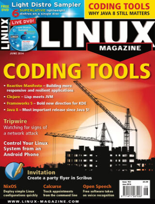 Linux Magazine #163: June 2014