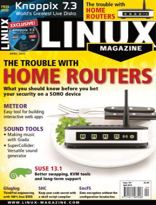 Linux Magazine #161: April 2014