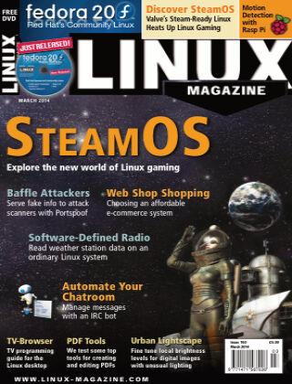 Linux Magazine #160: March 2014