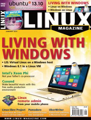 Linux Magazine #158: January 2014