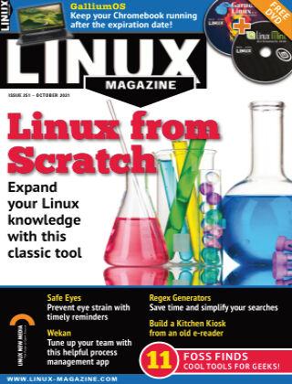 Linux Magazine #251 October 2021
