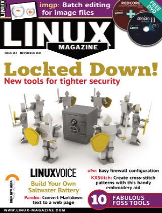 Linux Magazine #252 November 2021