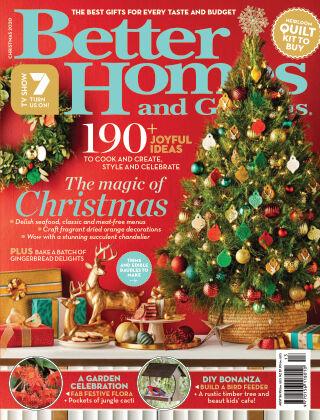 Better Homes and Gardens (Australia) Christmas 2020