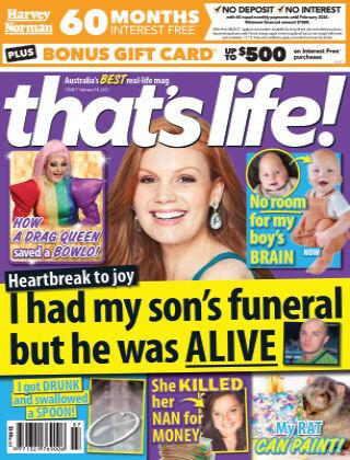 that's life! (Australia) 18th February 2021