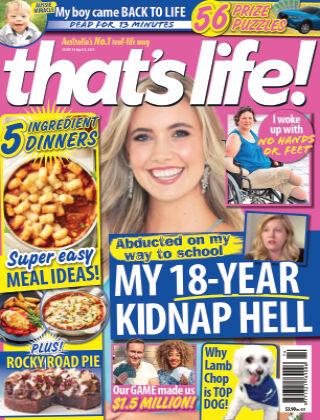 that's life! (Australia) 8th April 2021