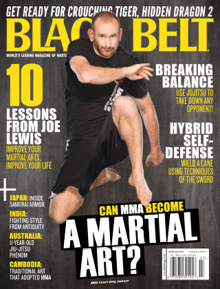 Black Belt June / July 2015