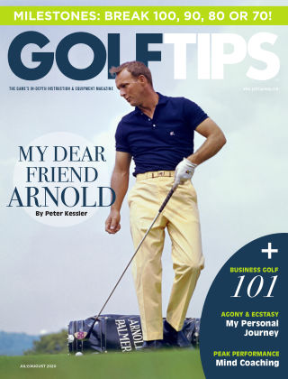 Golf Tips July & August, 2020