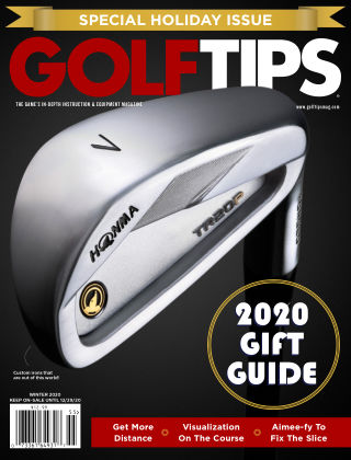Golf Tips Holiday Issue