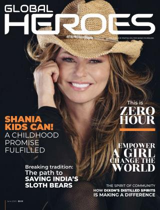 GLOBAL HEROES MAGAZINE 001