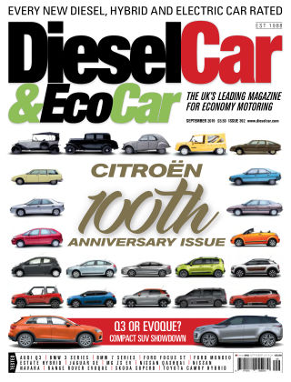 Diesel Car & Eco Car Magazine 392 - September 2019