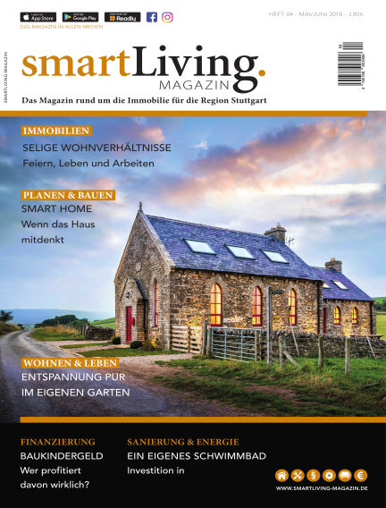 smartLiving-Magazin May 27, 2018 00:00