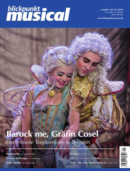 blickpunkt musical January 31, 2020 00:00