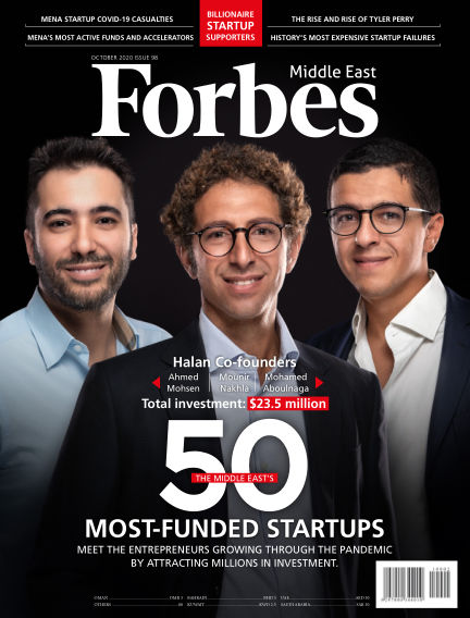 Forbes Middle East: English October 05, 2020 00:00