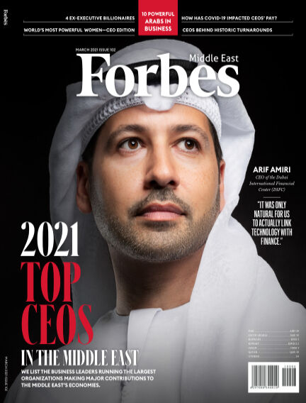 Forbes Middle East: English March 01, 2021 00:00