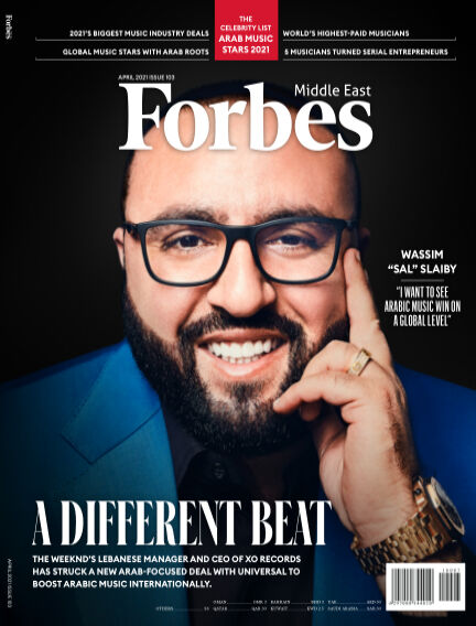 Forbes Middle East: English April 05, 2021 00:00
