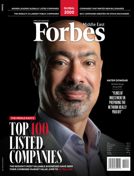 Forbes Middle East: English June 06, 2021 00:00