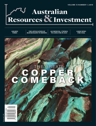 Australian Resources and Investment Vol 13 No 1