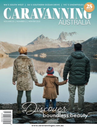 Caravanning Australia Winter 2021