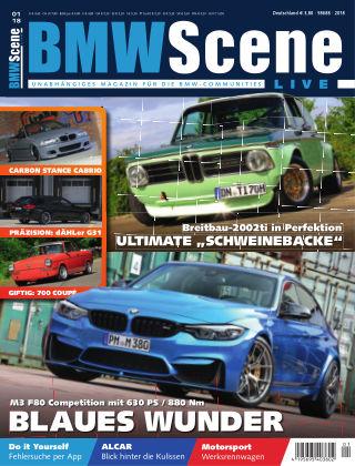 BMW SCENE LIVE 01-2018