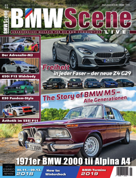 BMW SCENE LIVE November 09, 2018 00:00