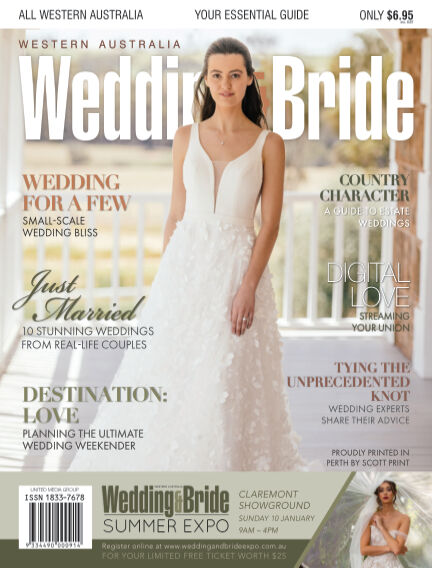 Western Australia Wedding & Bride November 26, 2020 13:00