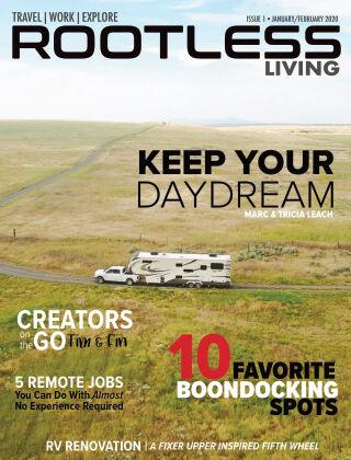 Rootless Living 001 • JAN/FEB 2020